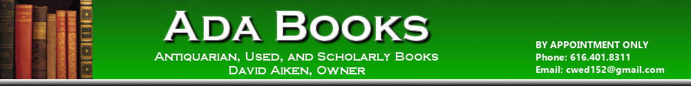 Ada Books - antiquarian, used, and scholarly books